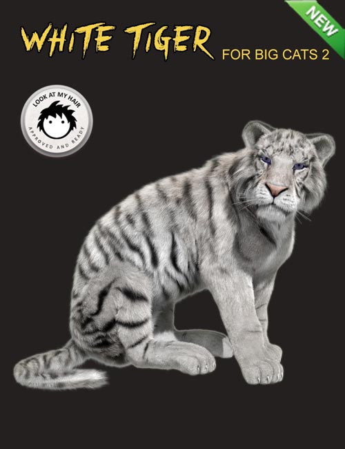 White Tiger for DAZ Big Cat 2