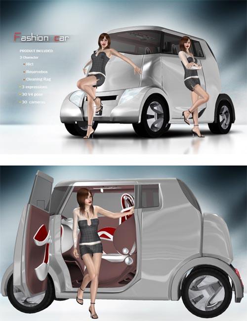 fashion car for V4