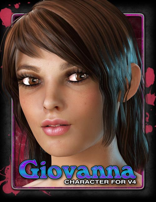 Exnem's Giovanna Character for V4