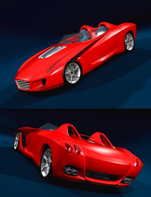 Red Spyder Sportscar