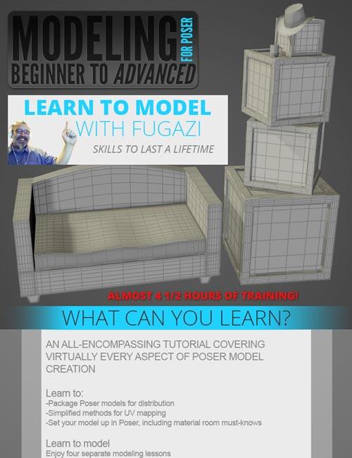 Modeling for Poser Beginner to Advanced