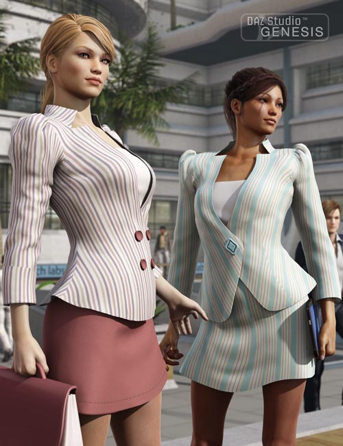 Female Business Suit