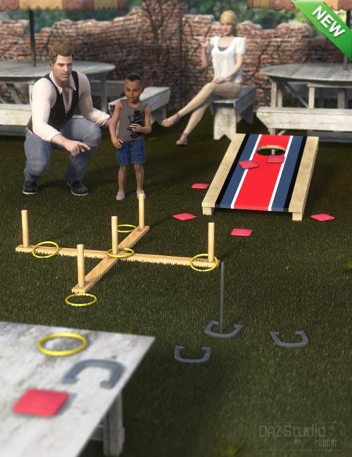 Outdoor Fun Tossing Games