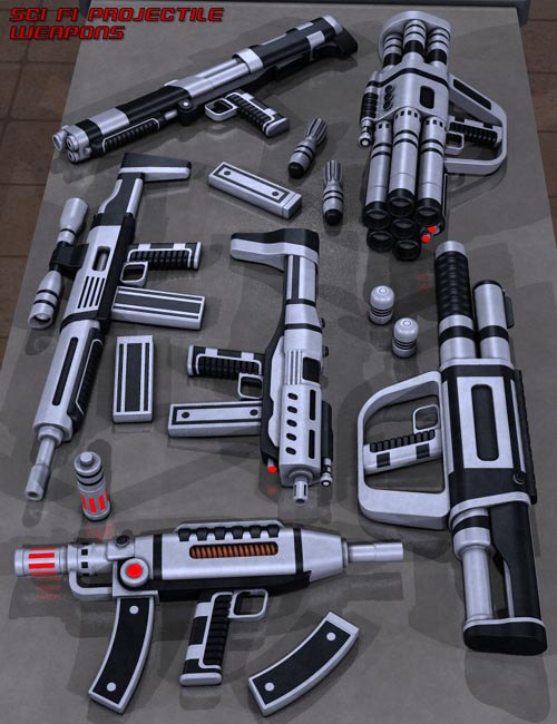 Sci Fi Projectile Weapons