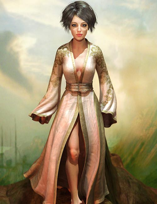 Medieval Morphing Dress
