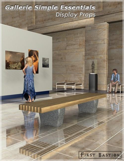 Gallerie Simple Essentials - Display Props