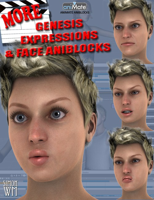 MORE Genesis Expressions and Face aniBlocks [UPDATE]