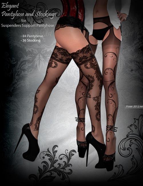 Elegant Pantyhose and Stocking