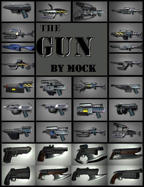 The Gun 1+2+3+4+5 by Mock