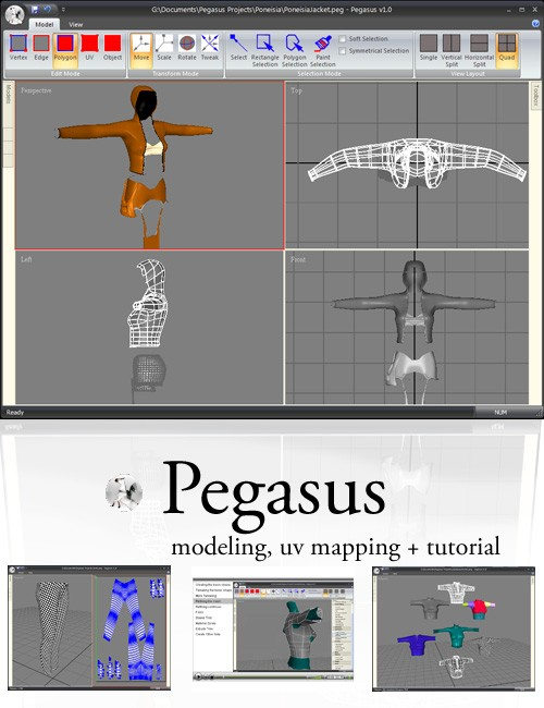 Pegasus Modeler + Serial