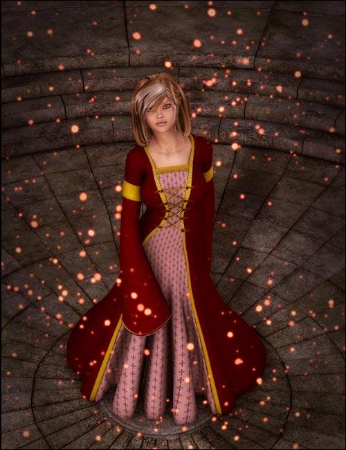 Ladies of the Court: Cassandra Dress for V4