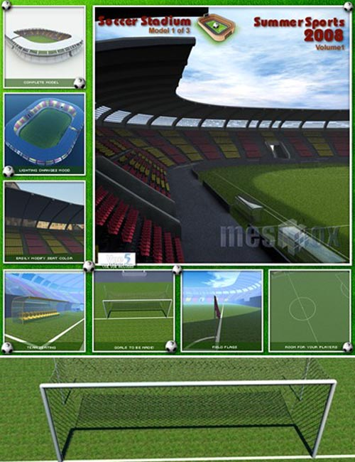 Meshbox Soccer Stadium