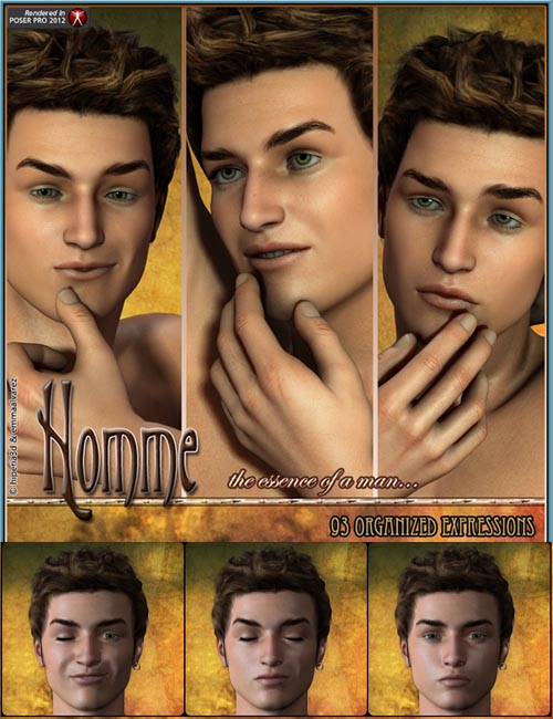Homme 93 Organized Expressions