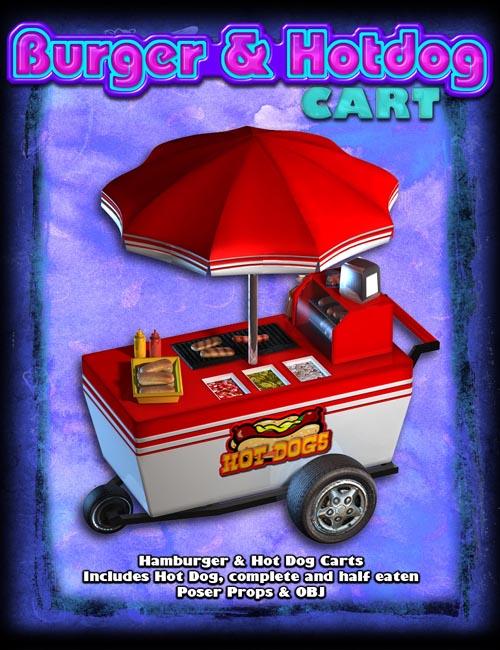 Exnem Burger & Hotdog Cart