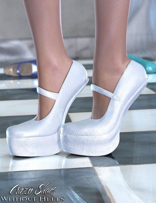Crazy Shoes - Without Heels