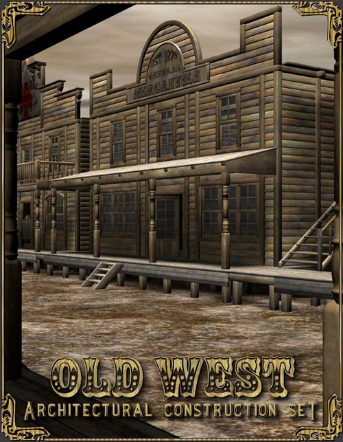 Old West Architectural Construction Set