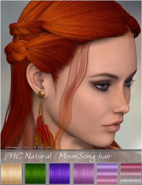 PHC Natural - MoonSong hair