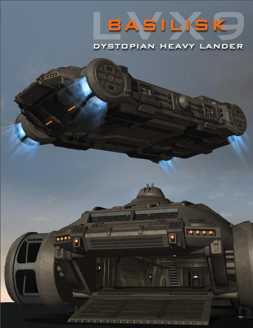 Dystopian Heavy Lander LVX9-Basilisk
