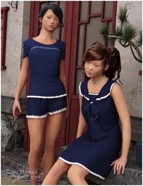 Dynamic Sailor Girl