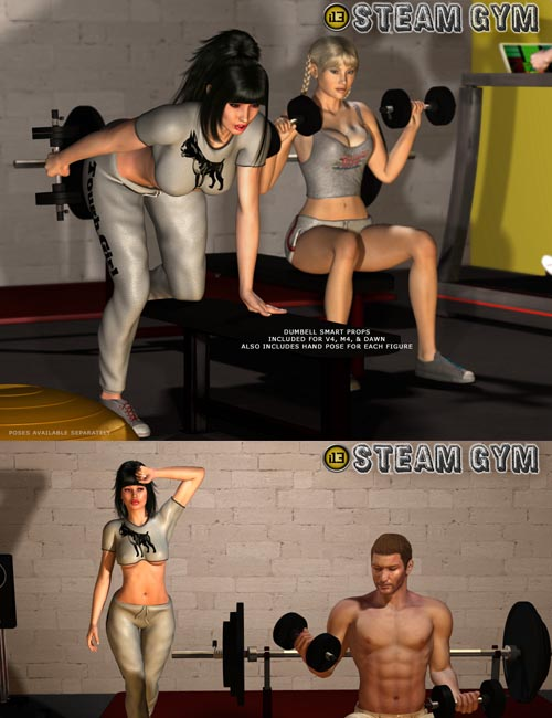 i13 STEAM gym