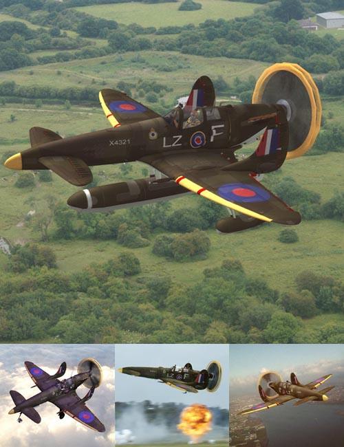 Supermarine SkyFury Mk1 (for Poser)