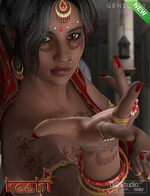 Keshi - Indian Character, Accessories and Poses Bundle