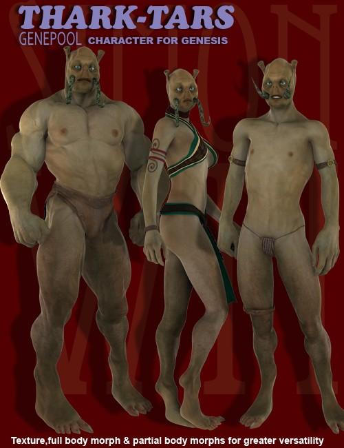 Thark-Tars Character for Genesis