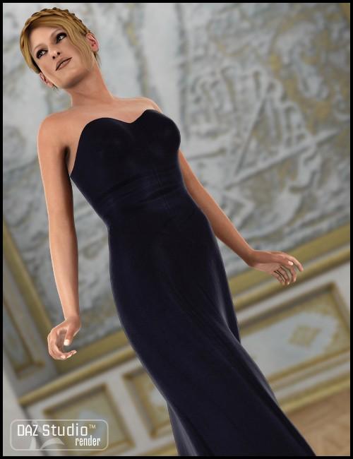 Morphing Fantasy Dress for Genesis