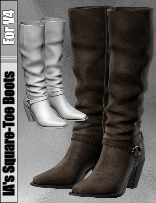 IA's Outfit 5 Boots for V4