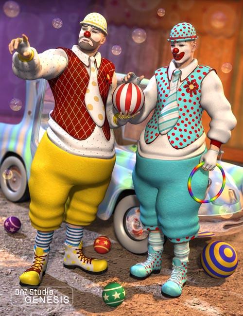 Clown Textures [ Iray UPDATE ]