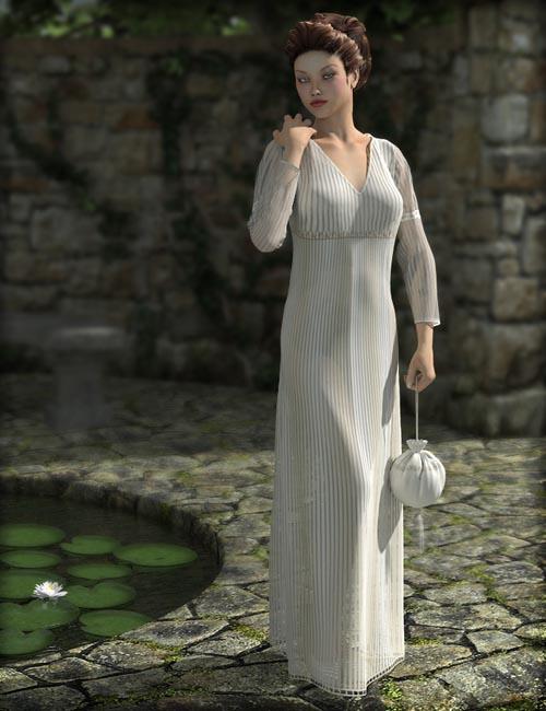 Dynamic Empire Dress for V4