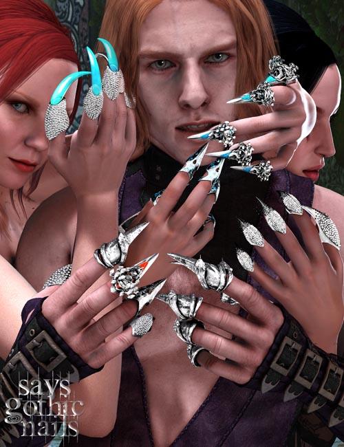 Sav's Gothic Nails