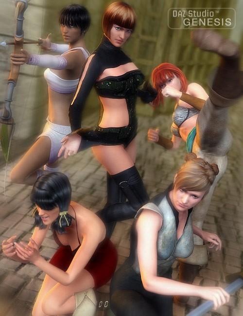 V5 Fantasy Poses