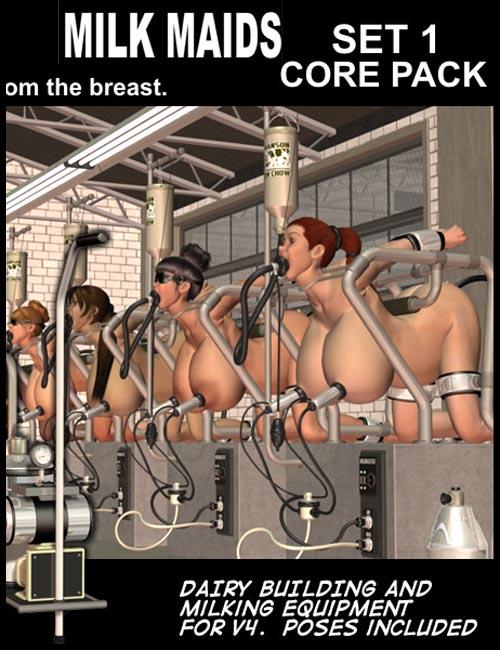 Davo's Milk Maids: Set 1 Core Pack