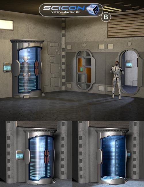 Scicon SciFi Constructor Set B