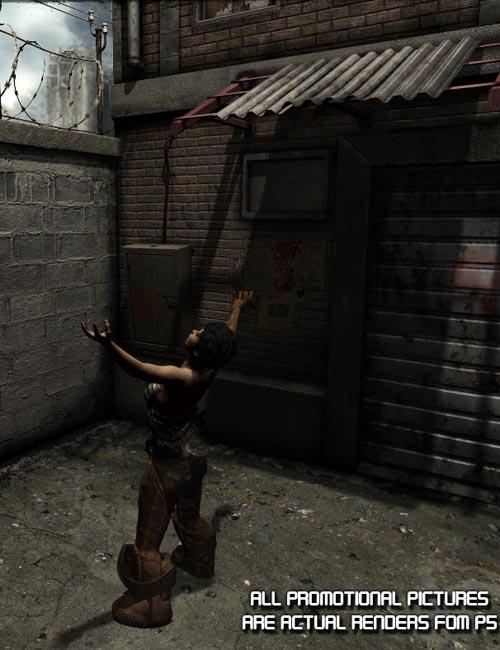 Dead End: Alley Scene Props