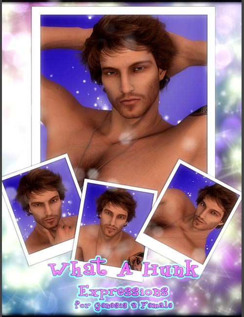 What A Hunk!! Expressions For Genesis 2 Male