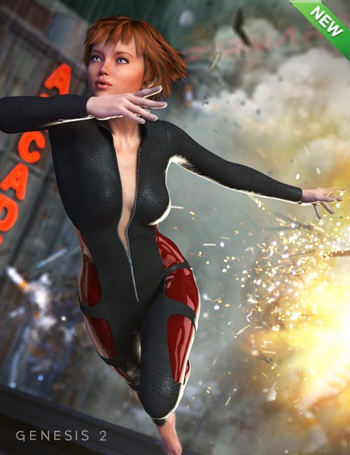 SciFi Bodysuit for Genesis 2 Female(s)