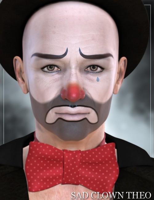 Sad Clown Theo [Iray UPDATE]