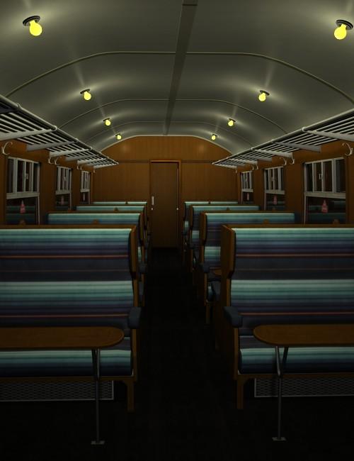 Mk1 Railway Carriage