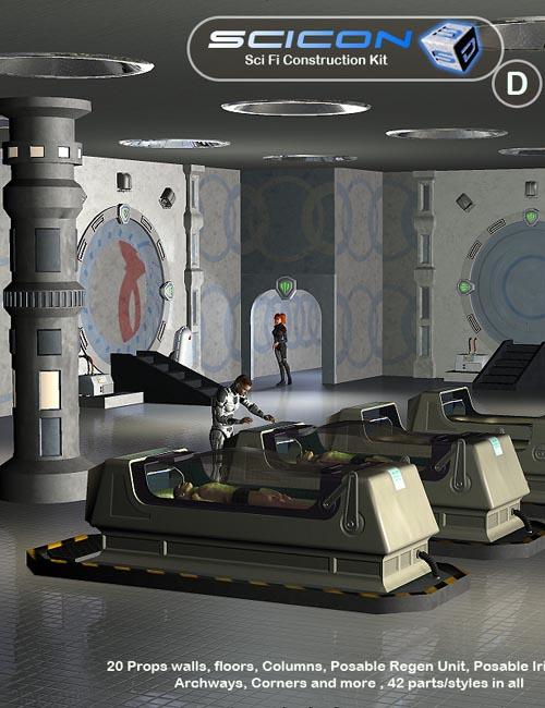 Scicon SciFi Constructor Set D