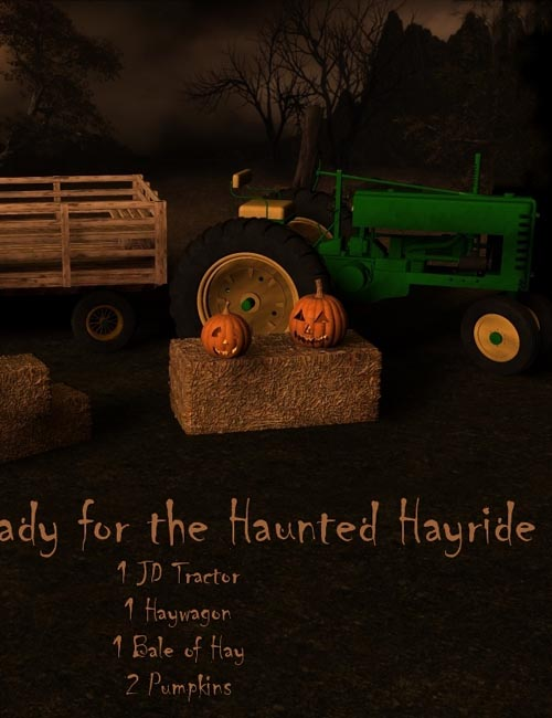 Haunted Haywagon Ride