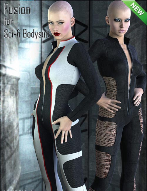 Fusion for Sci-Fi Bodysuit