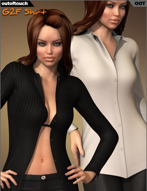 G2F Shirt for Genesis 2 Female(s)