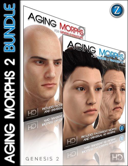 Aging Morphs 2 Bundle HD