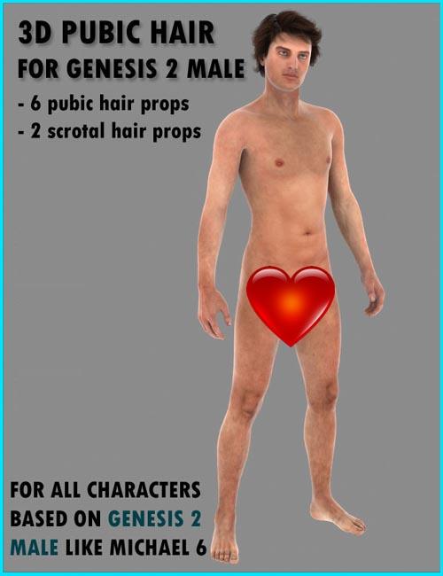 SFD's M5 & M6 3D Pubic Hair Bundle