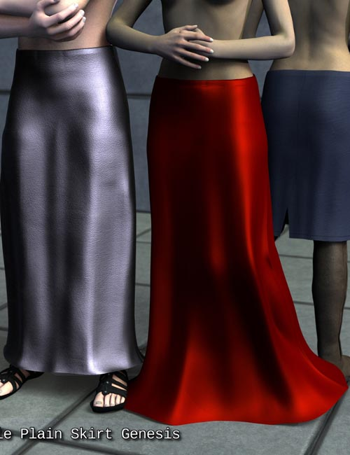 Sickle Plain Skirt Genesis