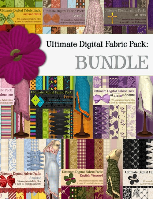 Ultimate Digital Fabric Pack BUNDLE