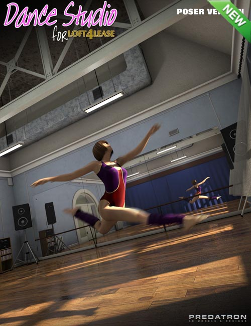Dance Studio Add-On (Poser)