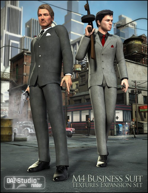 M4 Business Suit Textures